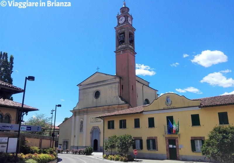 Cosa vedere a Carimate, la Chiesa di San Giorgio