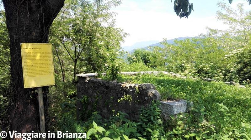 Cosa vedere a Sirtori, la Torre del Belvedere