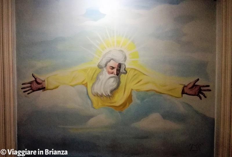 Dio Padre di Luca Meroni nella Chiesa di Tabiago