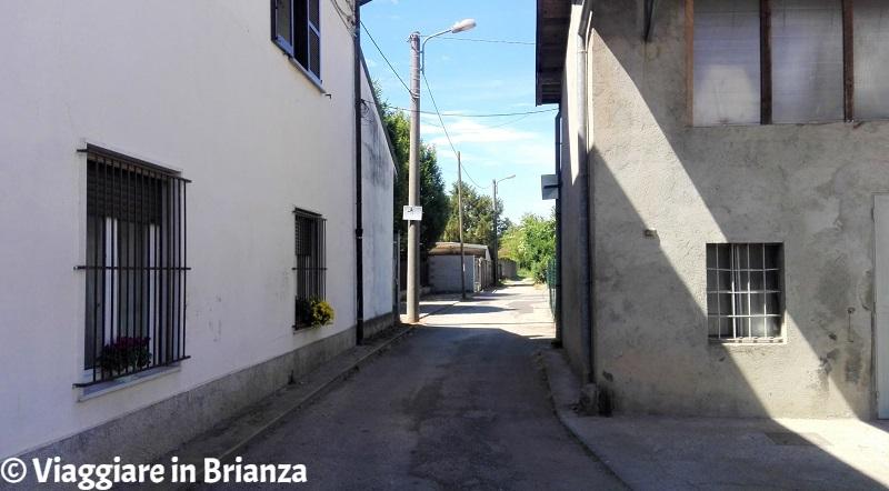 L'ingresso al Bosco Urbano di Lissone da via Manin