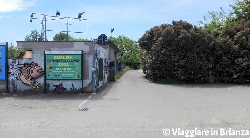 L'ingresso del Bosco Urbano di Lissone