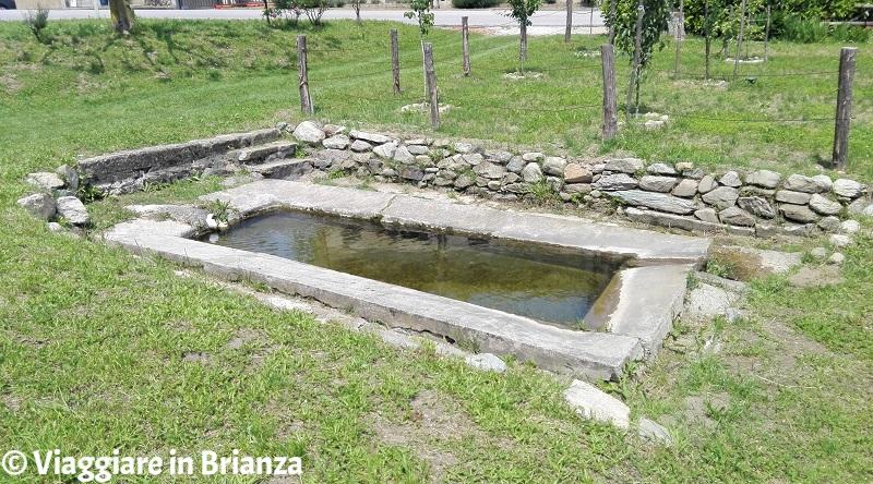 Il lavatoio di Ceregallo a Sirtori