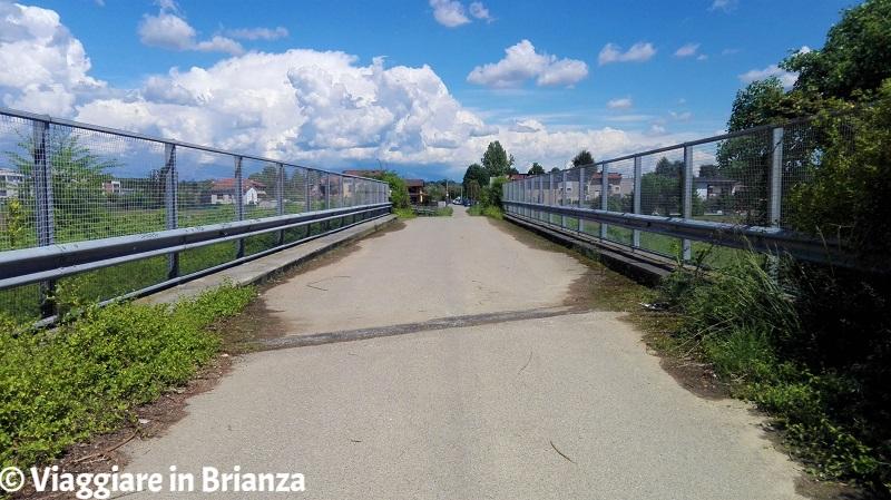 Lentate, il ponte sulla superstrada