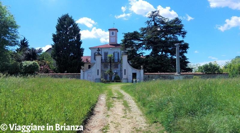 Lentate, Villa Verri