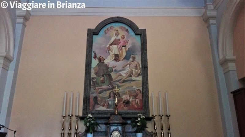 La Madonna del Carmine nel Santuario dei Morti dell'Avello