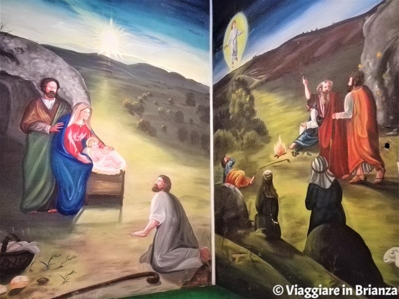 La Natività di Luca Meroni nella Chiesa di Tabiago