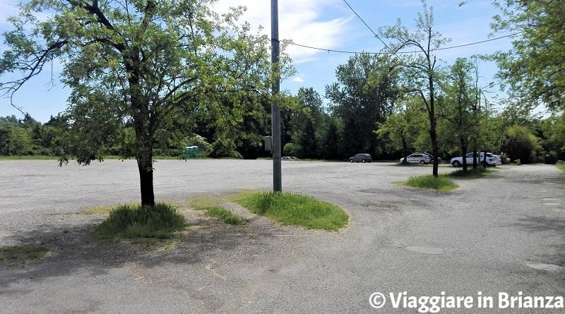Il parcheggio del Laghetto di Lissone