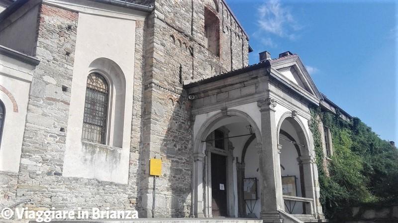 Il protiro della Basilica di San Paolo a Cantù