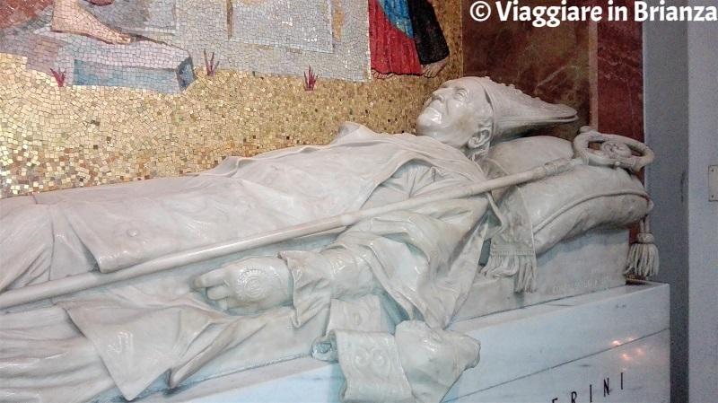 La scultura di Monsignor Ballerini di Francesco Confalonieri