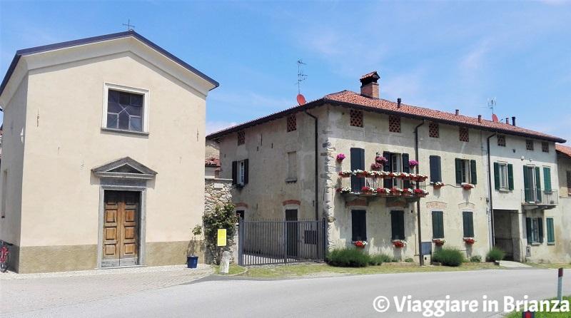 Sirtori, il nucleo storico di Ceregallo
