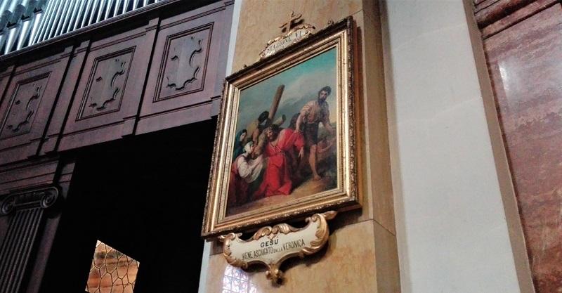 Via Crucis nella Basilica di Seregno: la stazione VI
