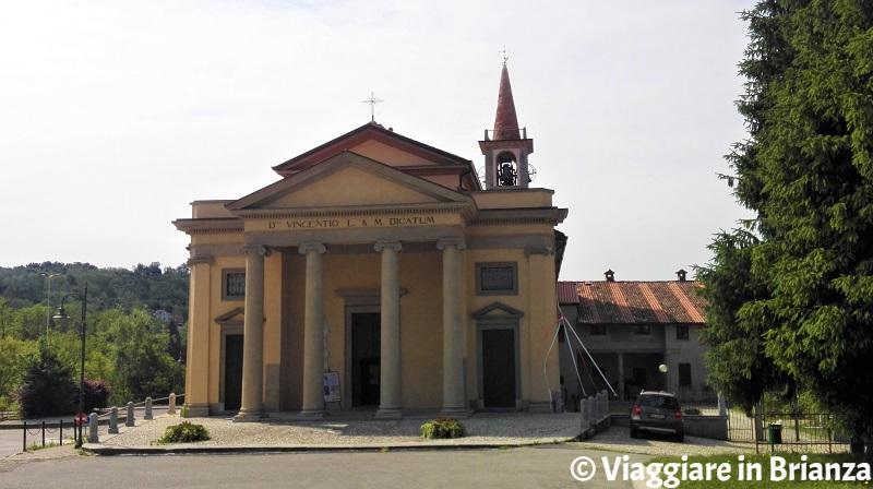 Viganò, la Chiesa di San Vincenzo