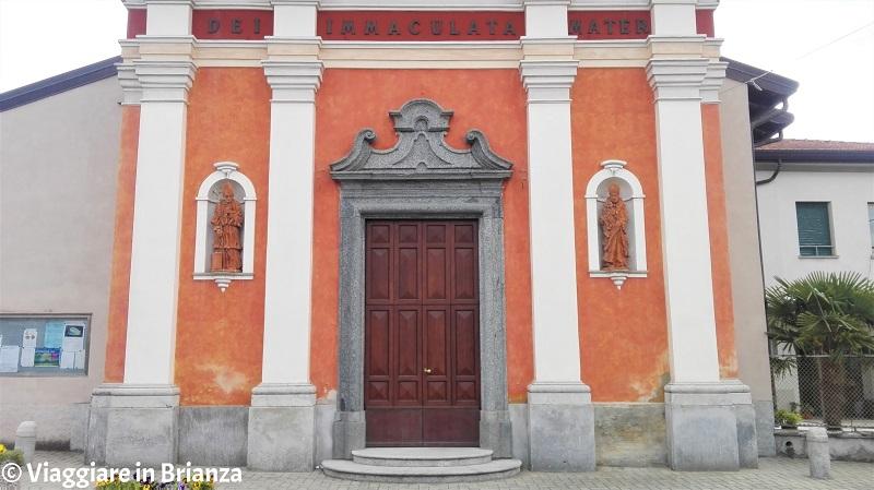 La chiesa di Socco a Fino Mornasco