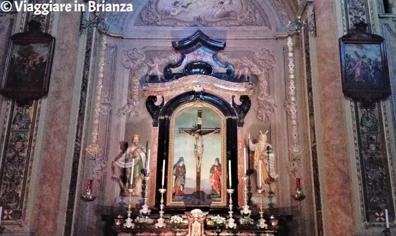 Il Crocifisso ligneo della chiesa di Carimate