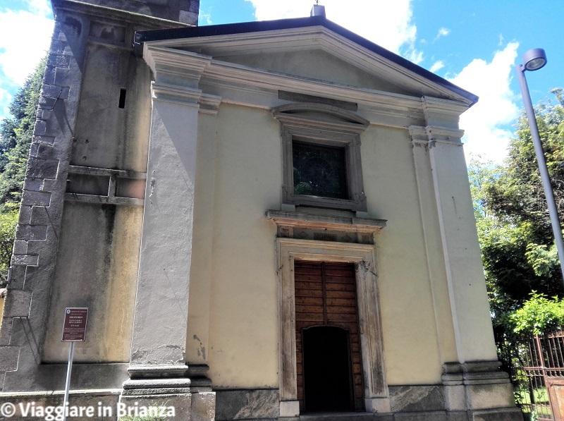 La facciata del Santuario della Madonna dell'Albero di Carimate