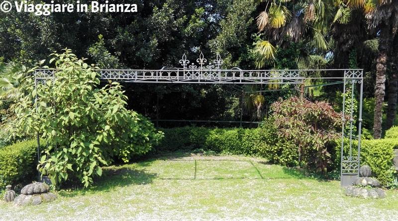 Il gazebo del parco di Villa Besana