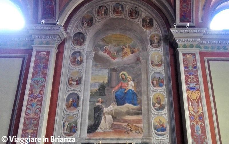 La Madonna del Rosario nel Santuario della Madonna dei Vignoli a Seregno
