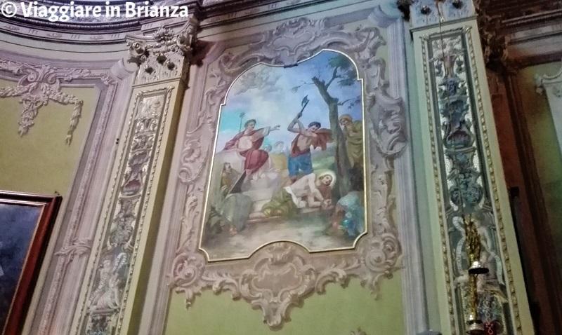 Il Martirio di Sant'Alessandro nella chiesa di Carimate