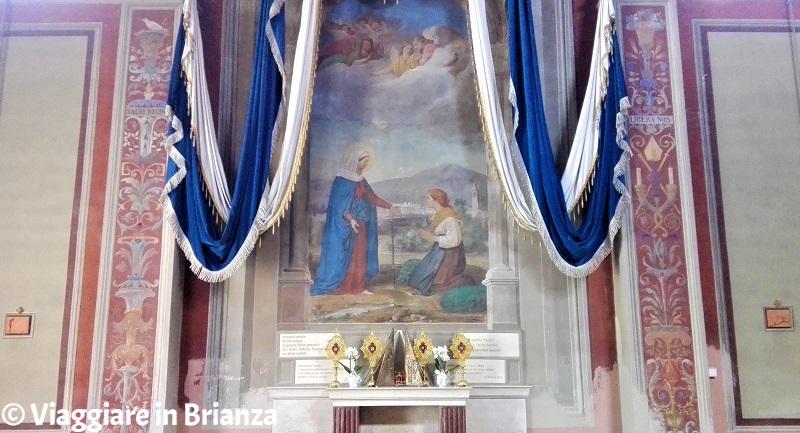 Santuario della Madonna dei Vignoli di Seregno, la Madonna di Caravaggio