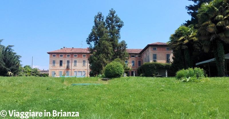 Villa Besana a Sirtori, il giardino