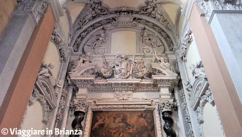 L'altare di Sant'Antonio nel Santuario della Madonna dei Miracoli di Cantù