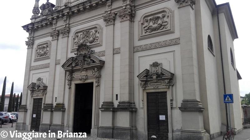 L'ingresso del Santuario della Madonna dei Miracoli di Cantù