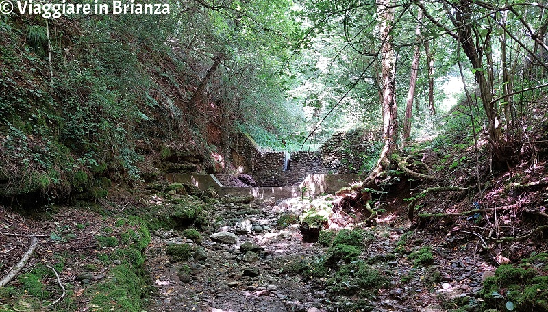 Il letto del torrente Brovada