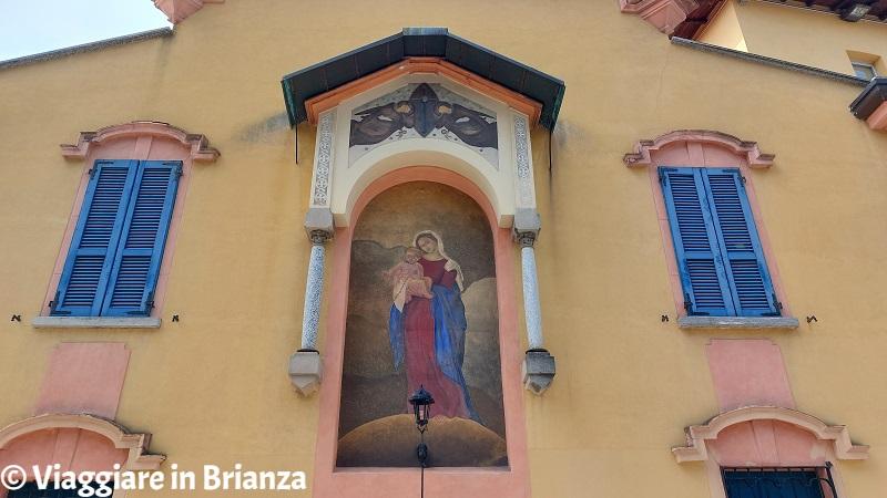 L'affresco di Villa Majnoni a Erba