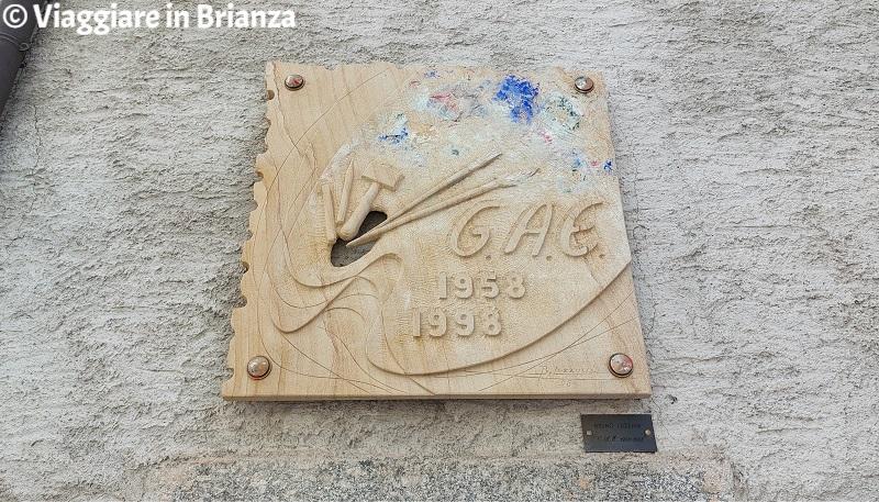 Bruno Luzzani, Gruppo Artistico Erbese