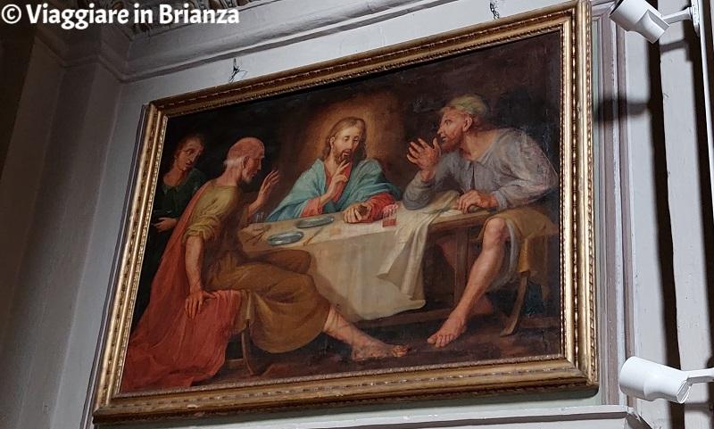 La cena di Emmaus nella Chiesa di San Bernardo a Lezza
