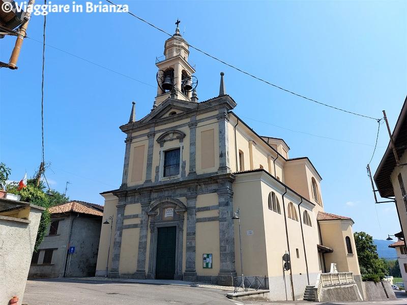 La chiesa di Rogeno