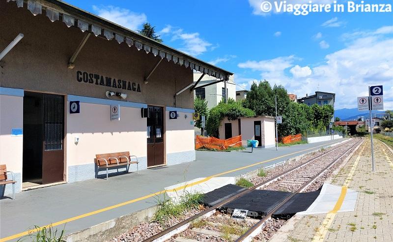 Cosa fare a Costa Masnaga, come arrivare in treno