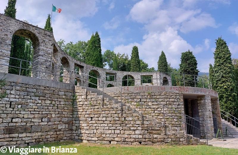 Cosa fare a Erba, il Monumento ai Caduti