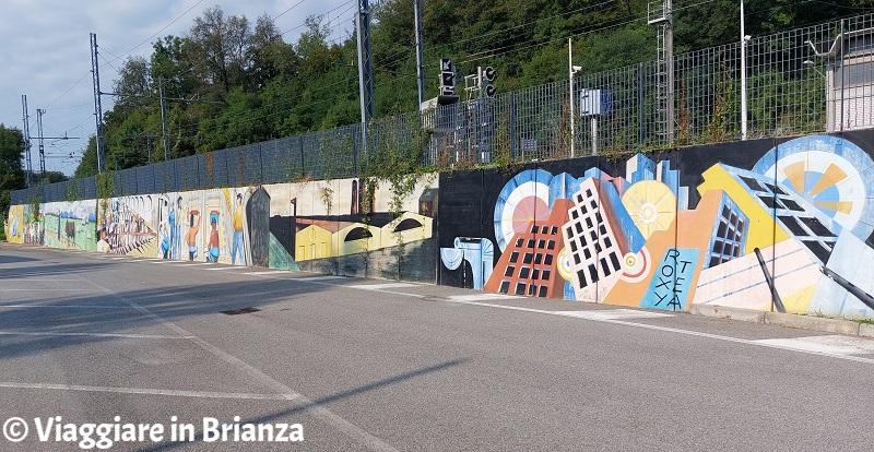 Cosa fare a Merone, i murales di Giovanni Beretta