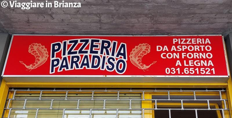 Cosa fare a Merone, pizzeria Paradiso