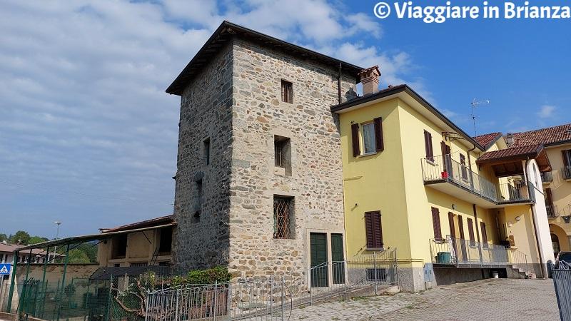 Cosa fare a Merone, la torre del Palazzo Carpani