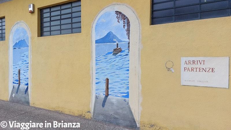 Cosa fare a Ponte Lambro, i murales di Patrizia Crespi