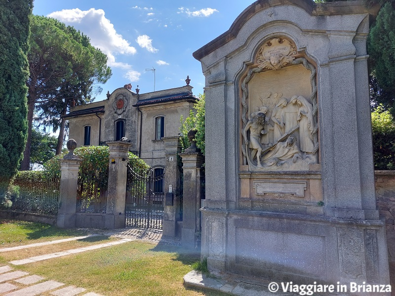 Cosa vedere a Costa Masnaga, le cappelle della Via Crucis