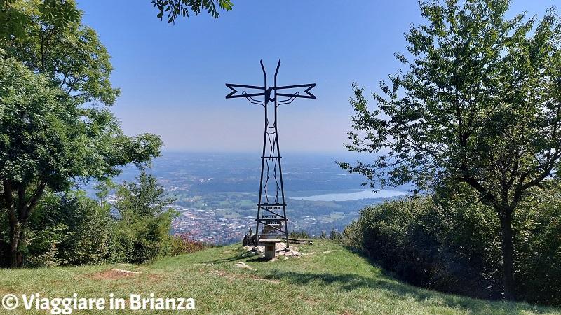 La Croce Pessina a Erba sul Monte Panigas