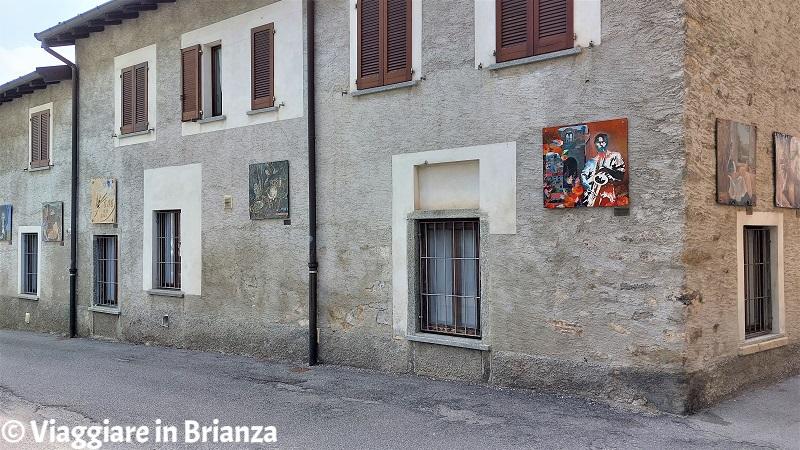 Erba, Incino e la contrada di Villincino: i quadri di piazza Prina