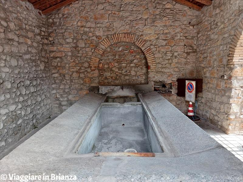 Erba, Incino e contrada Villincino: il lavatoio