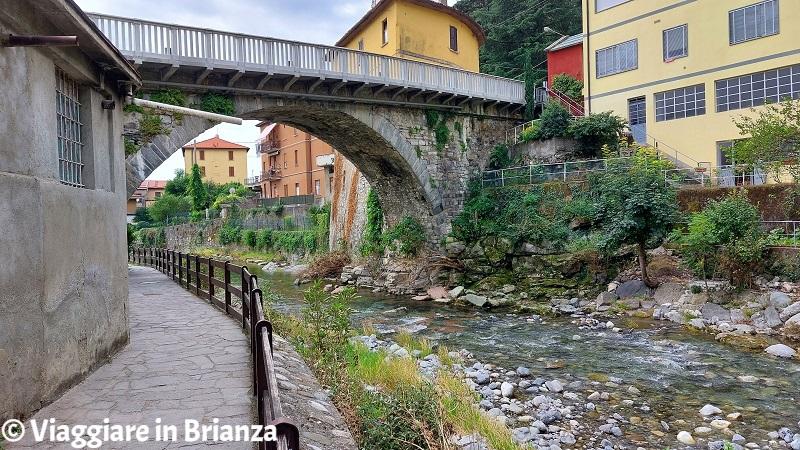 Il fiume Lambro a Ponte Lambro