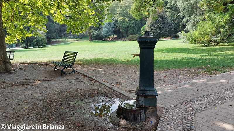 La fontanella nel parco Majnoni