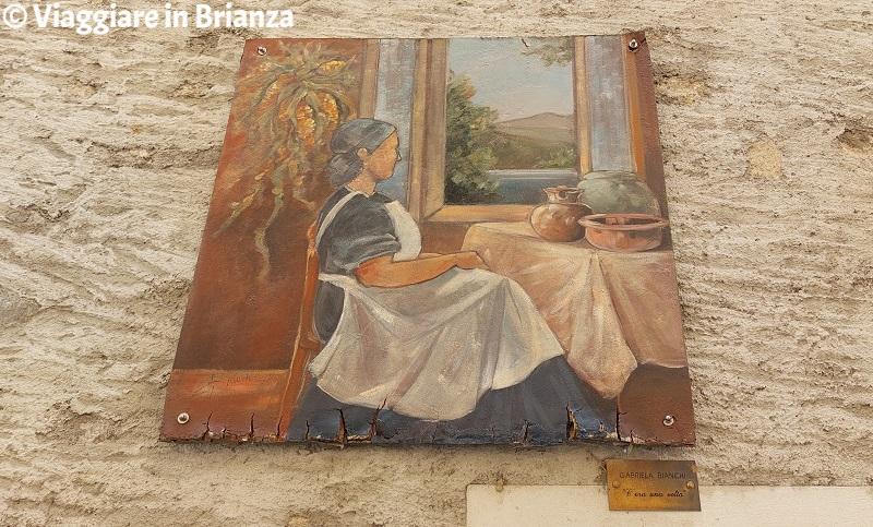 Gabriela Bianchi, Erba, Incino, contrada di Villincino