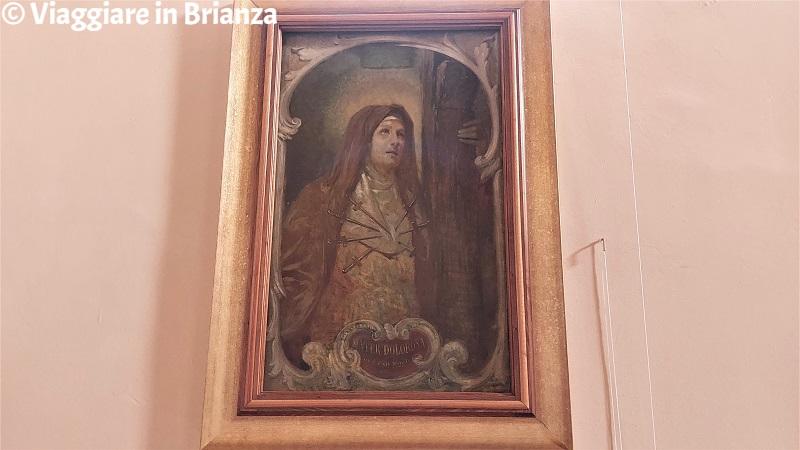 La Madonna dalle sette spade nella Chiesa di San Bernardo a Lezza