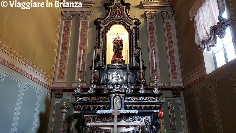 La Madonna dalle sette spade nella Chiesa di San Bernardo a Ponte Lambro