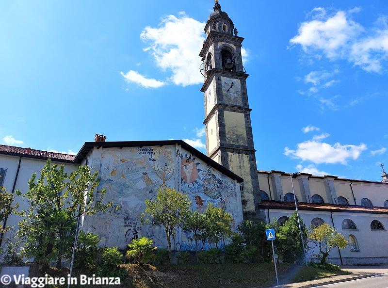 I murales della chiesa di Costa Masnaga