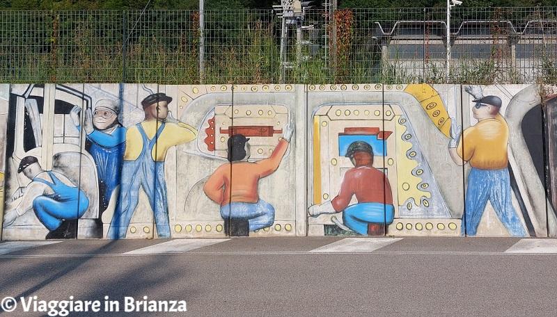 Murales a Merone, Detroit Industry Murals
