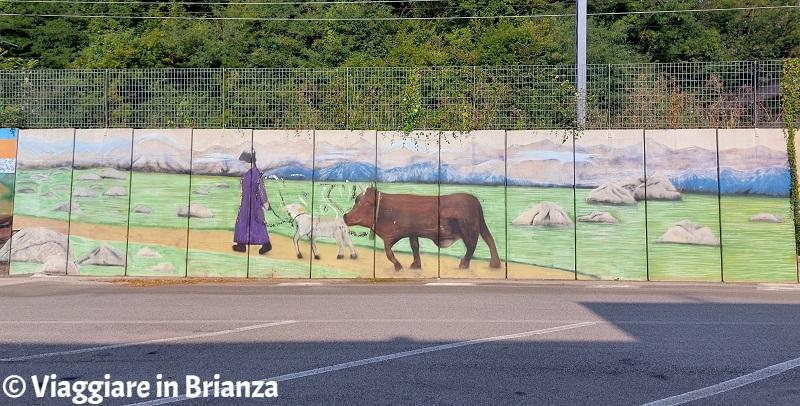 Murales di Merone, Giovanni Segantini: La natura