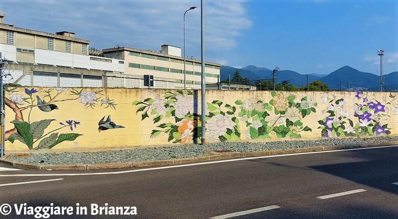 I murales di Merone di Katsushika Hokusai